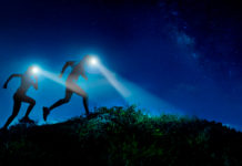 frontales para trail running